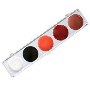 Tri Colour Make Up Palette Bruised