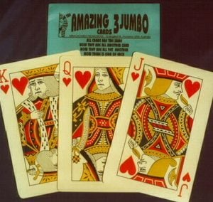 Amazing 3 Jumbo Cards