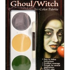 Tri Colour Make Up Palette Ghoul/Witch