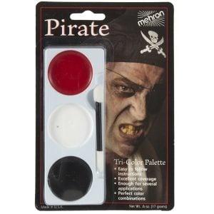 Tri Colour Make Up Palette Pirate