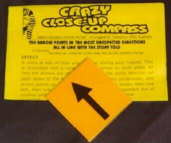 Crazy Compass Square (55x55mm)