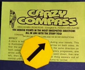 Crazy Compass Octagonal (55x55mm)