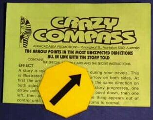 Crazy Compass Octagonal (55x55mm)