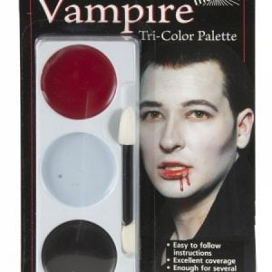 Tri Colour Make Up Palette Vampire