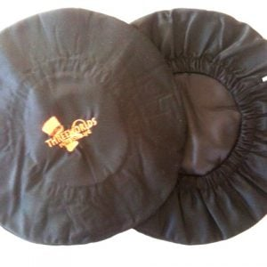 Black Cotton Djembe Head Cover