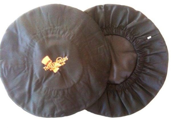 Black Cotton Djembe Head Cover