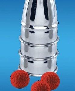 Combo Set Cups & Balls & Chop Cup