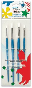 Derivan Brush Set of 4