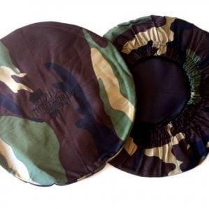 Camo Print Djembe Head Cover