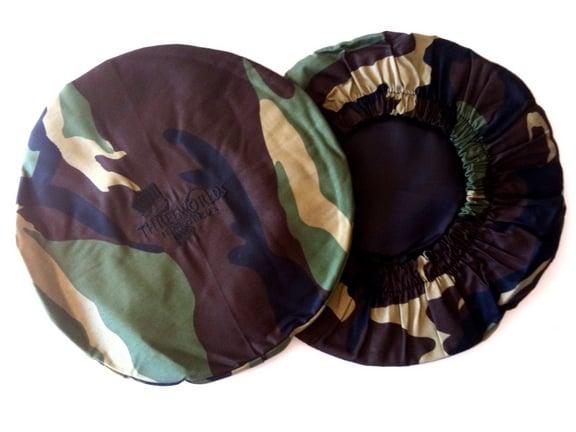 Camo Print Djembe Head Cover
