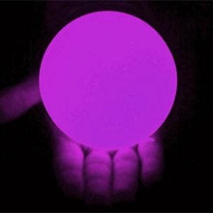 100mm LED Contact Ball Purple