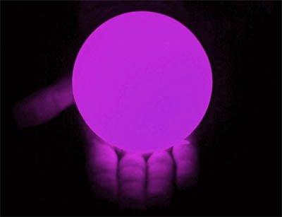 100mm LED Contact Ball Purple