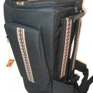 African Print Djembe Bag