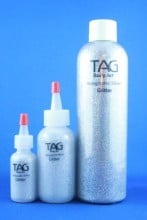Tag Holographic Silver Dry Puff Glitter (15ml)