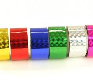 Hula Hoop Tape - Single Colour 15mt