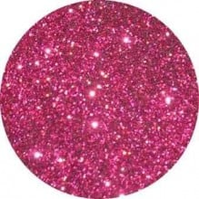 Tag Bright Pink Dry Puff Glitter (15ml)