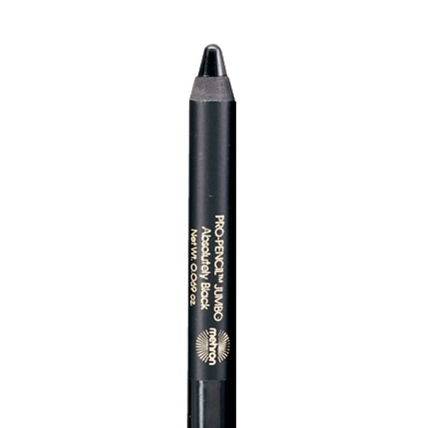 Mehron Pro Pencil Jumbo Black