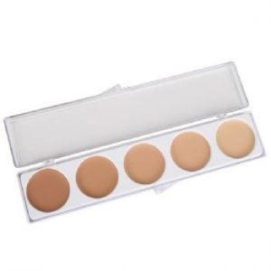 Olive Series 5 Colour Mask Cover Makeup Palette