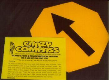 Crazy Compass Octagonal (200x200mm)