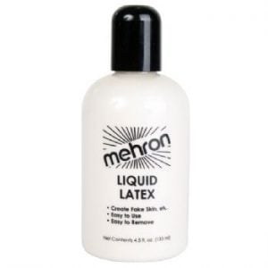 Mehron Clear Liquid Latex (133ml)