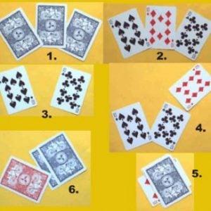Acrobat Card - Jumbo Size