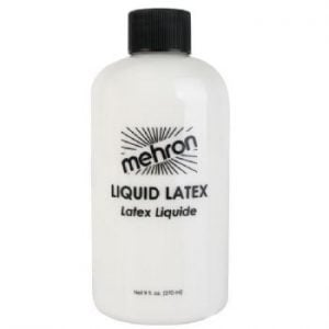 Mehron Clear Liquid Latex 270ml