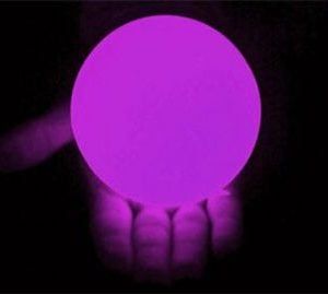 100mm LED Contact Globall Purple