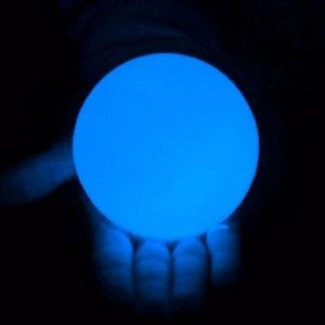 100mm LED Contact Ball Blue