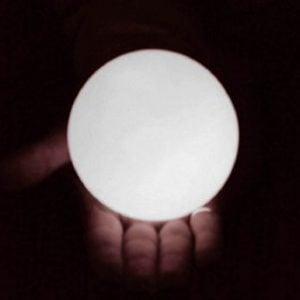 100mm LED Globall White
