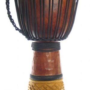 """13"""" Mahogony Pro Djembe Drum"""