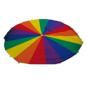 6m Rainbow Parachute