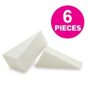 Sponge Non-Latex Foam Applicator Wedges 6 pc