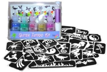 Tag Glitter Tattoo Kit