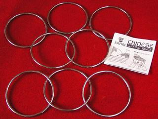 """4"""" Chinese Linking Rings"""