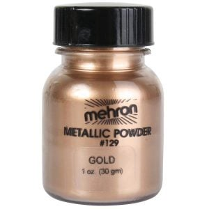 Mehron Gold Metallic Powder (22g)
