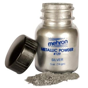 Mehron Silver Metallic Powder (22g)