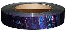 Purple Liquid Effect Holographic Tape 25mm