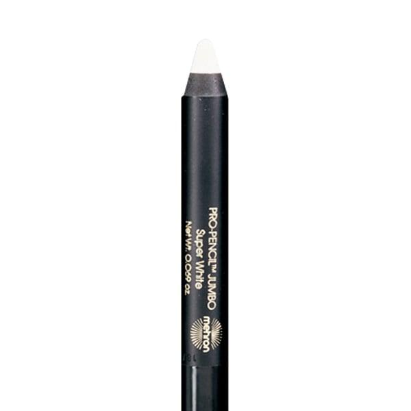 Mehron Pro Pencil Jumbo White