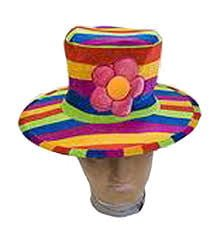 Stripey Clown Hat