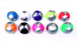 130gm Silver/Solid Colour Soft Ball