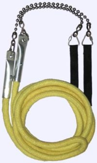 Fire Skipping Rope - 3 person