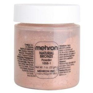 Mehron Specialty Powder Natural Bronze (17g)