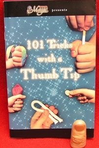 101 Thumbtip Tricks Book & Thumbtip
