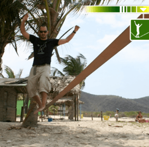 Gibbon Travel line Slackline 15mts
